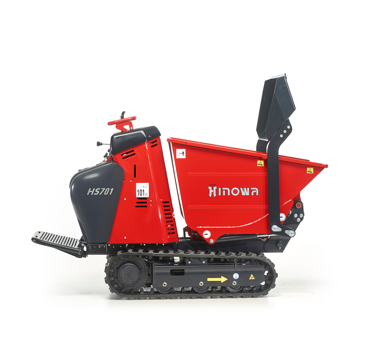 Minidumper HS701 with self-loading skip