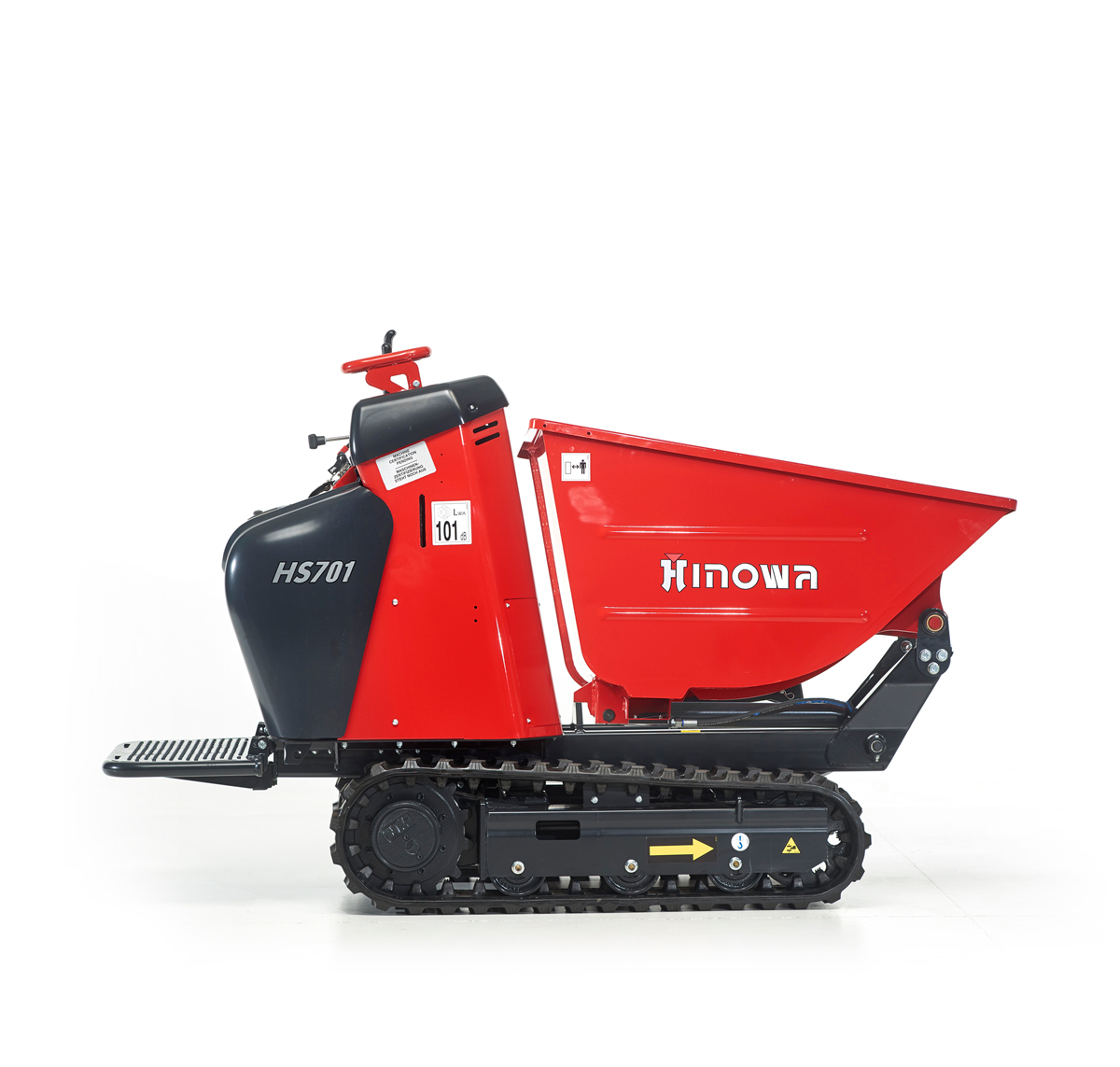 Minidumper HS701 with dumper bed